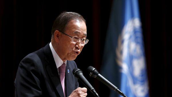 Ban Ki-moon: pas de sécurisation de la Corée du Sud sans les USA et la Russie - Sputnik France