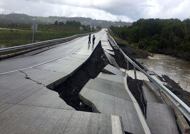 Séisme de magnitude 7,7 près des côtes chiliennes