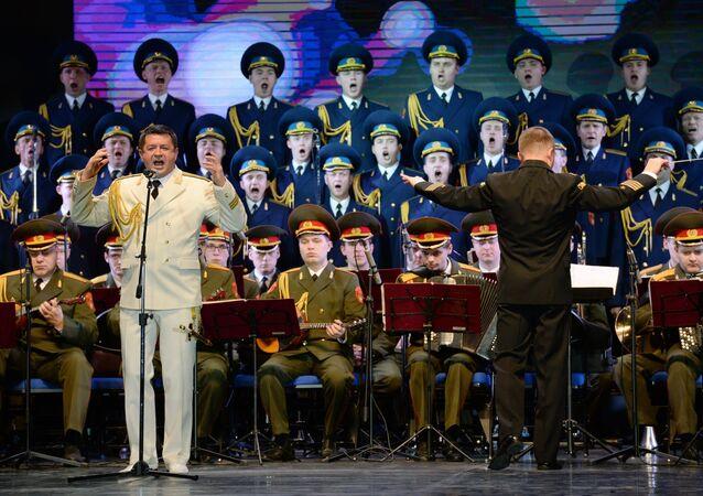 Un parc en l'honneur du chœur Alexandrov à Belgrade