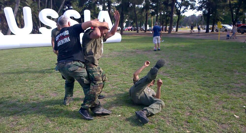 Art martial russe Sistema en Argentine