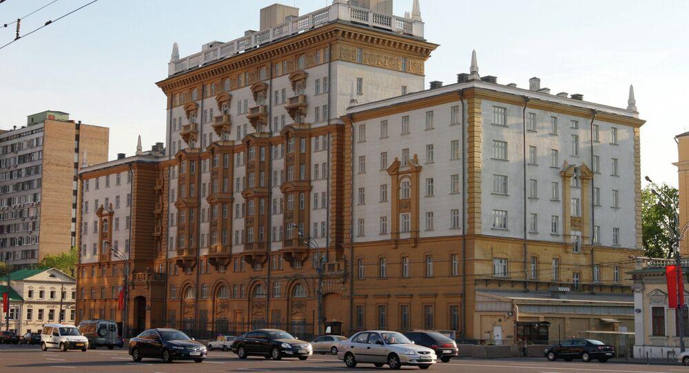 Ambassade US à Moscou