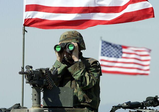 Un militaire US. Archive photo