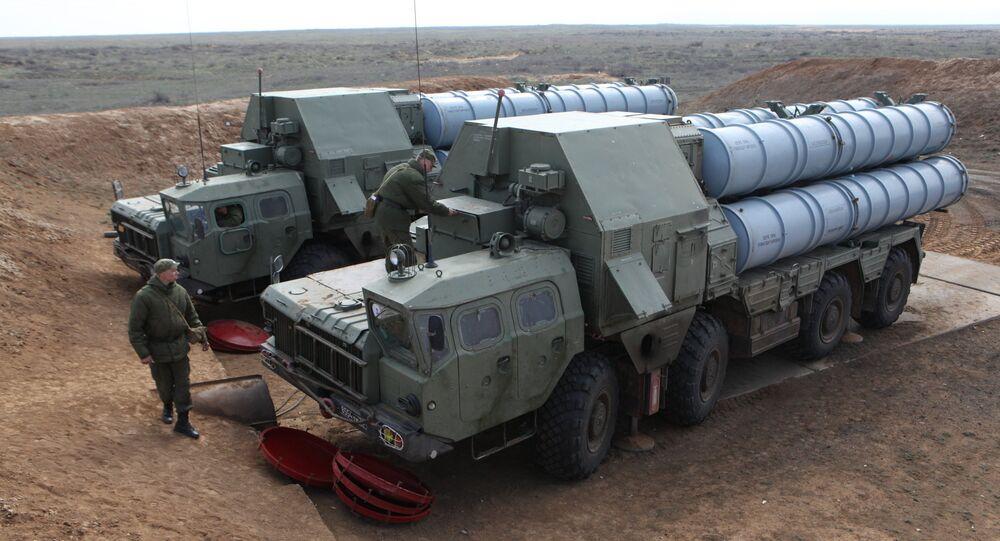 Un système de missiles S-300