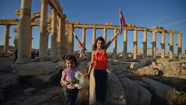 Des enfants syriens - Sputnik France