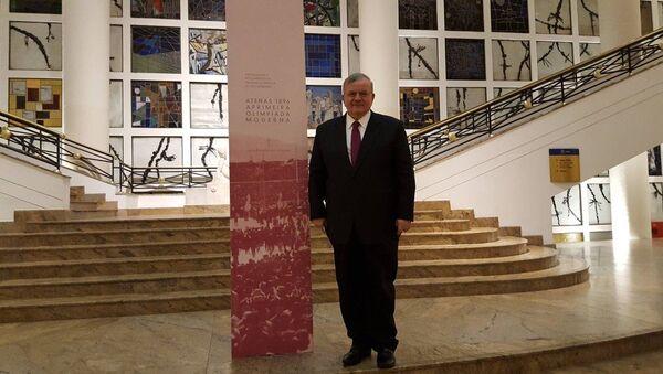 L'ambassadeur de Grèce au Brésil Kyriakos Amiridis - Sputnik France