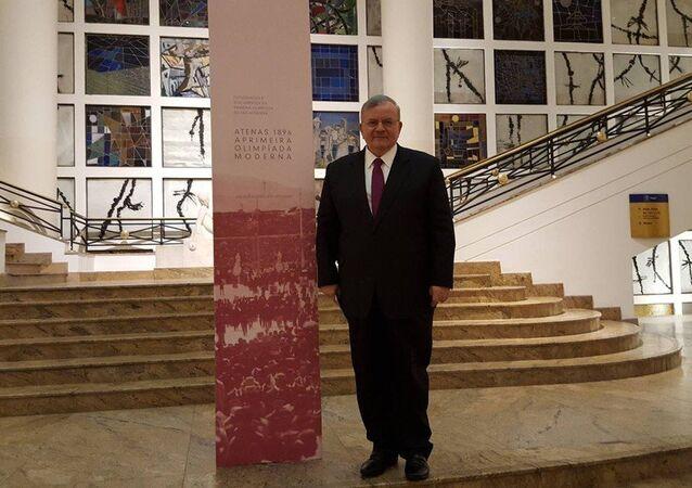L'ambassadeur de Grèce au Brésil Kyriakos Amiridis
