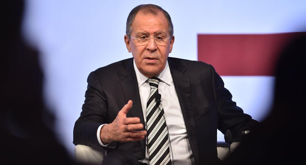 Le chef de la diplomatie russe Sergueï Lavrov. Archive photo