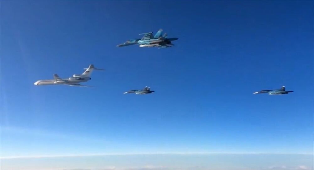 First group of Russian Aerospace Force aircraft redeploys from Hmeimim to Russia