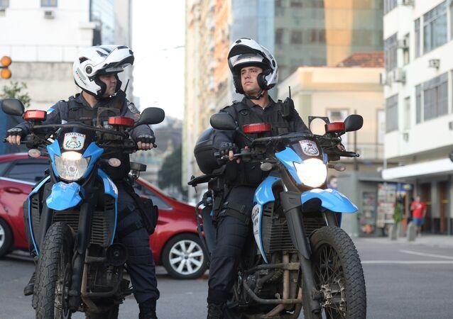 La police à Rio