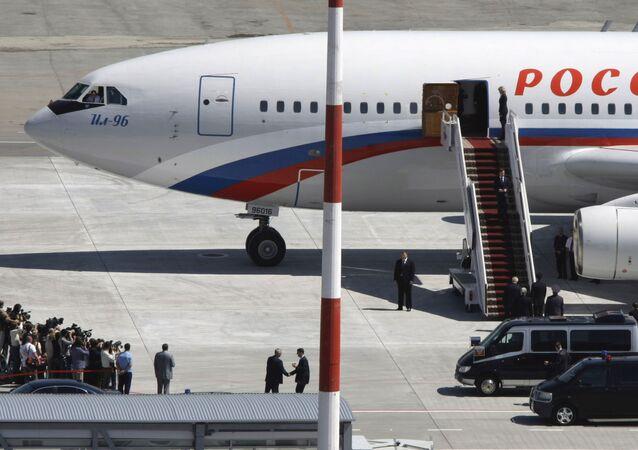 l'avion présidentiel russe