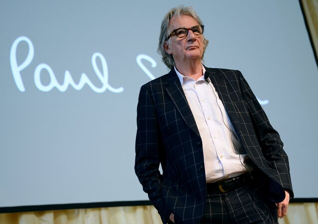 Paul Smith, styliste anglais