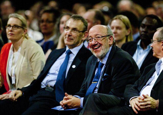 Louis Michel, député belge au Parlement européen et ancien ministre des Affaires étrangères