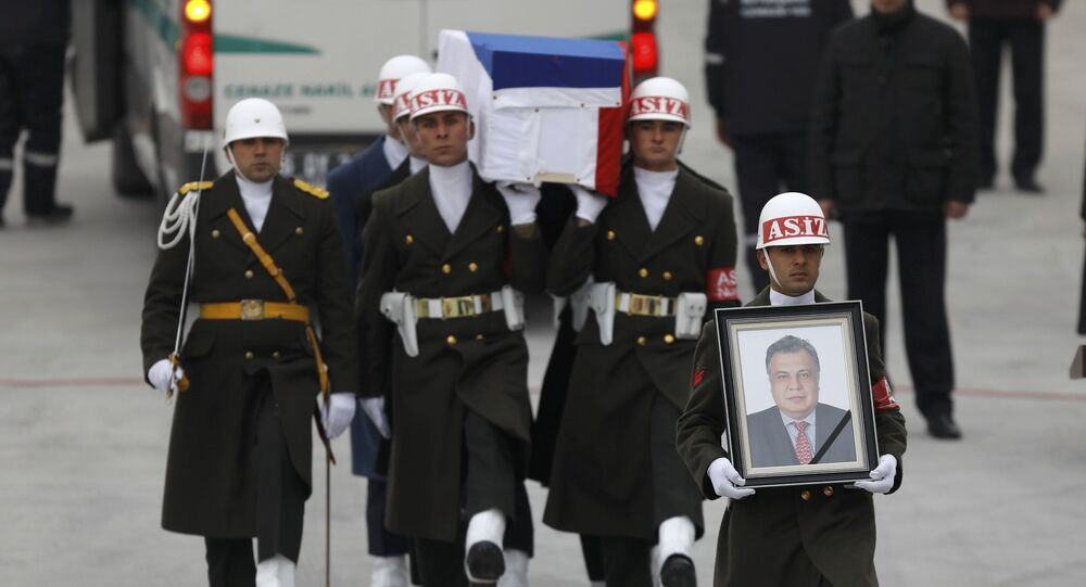 La rue à Ankara a reçu la nom d'Andreï Karlov