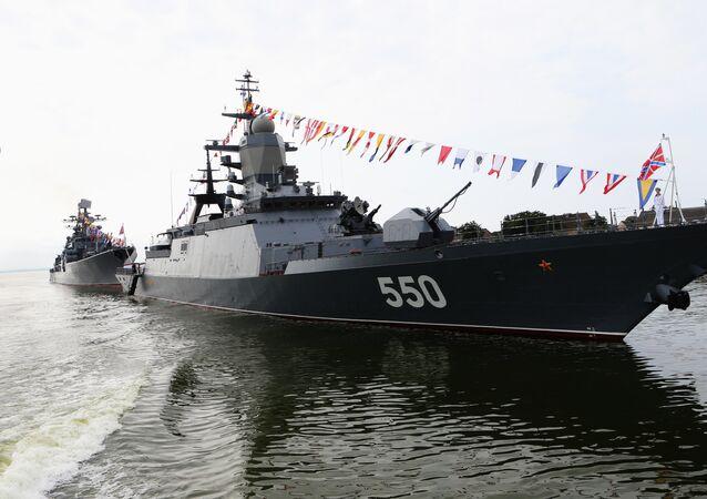 Une corvette du projet 20380 de la flotte du Pacifique