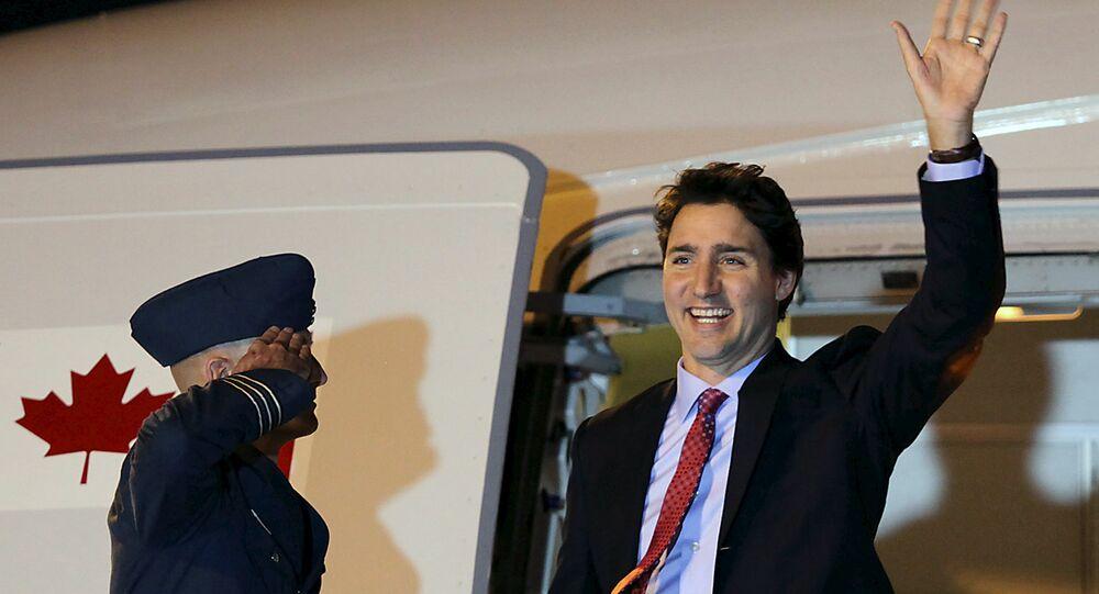 Jane Fonda remet le gentleman libéral Justin Trudeau à sa place