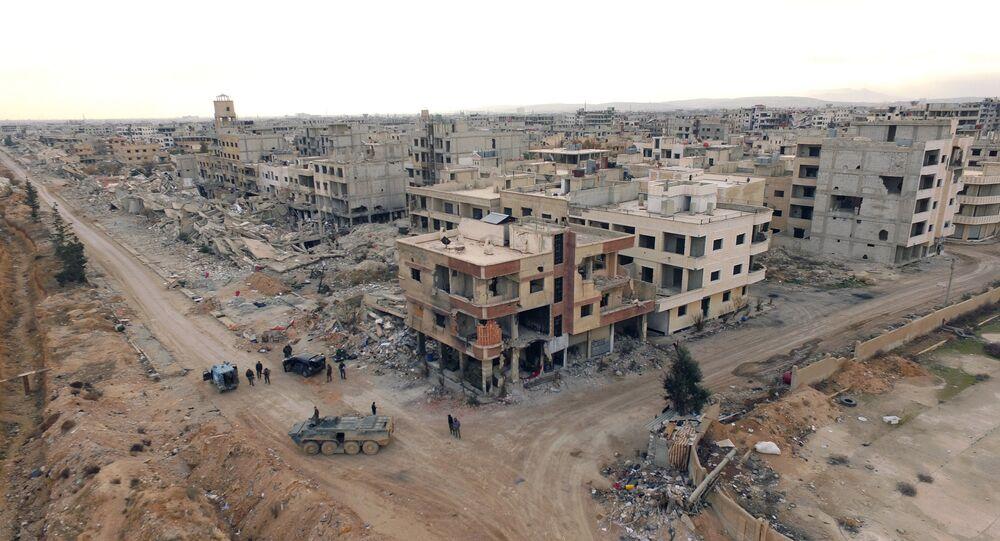 Une banlieue de Damas