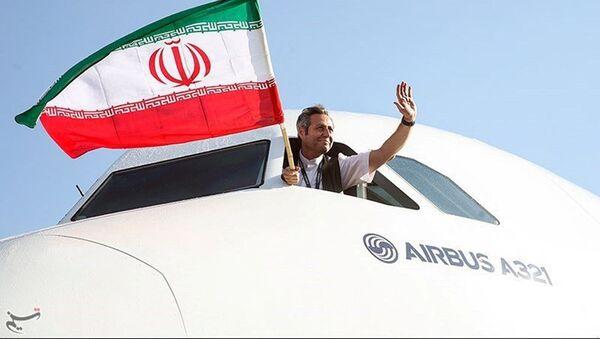 Le premier Airbus A321 atterrit en Iran - Sputnik France