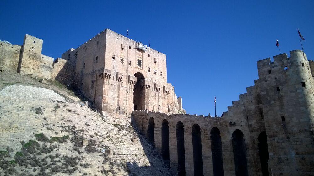La citadelle imprenable d'Alep