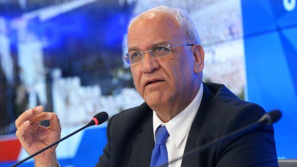 П/к генерального секретаря исполкома Организации освобождения Палестины С. Ариката - Sputnik France