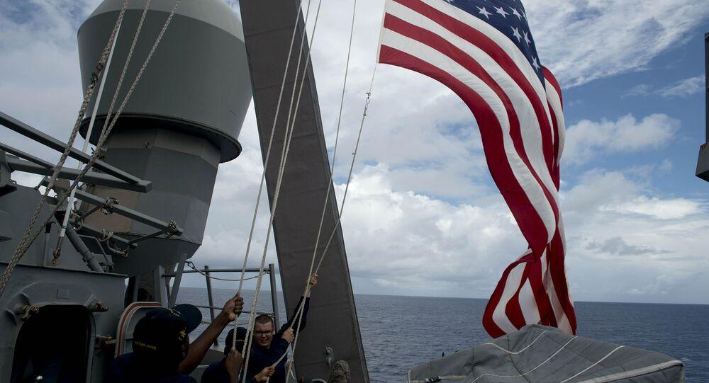 Le drapeau américain