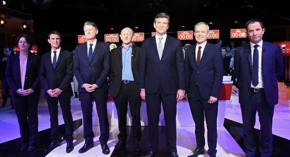 Deuxième débat de la primaire à gauche