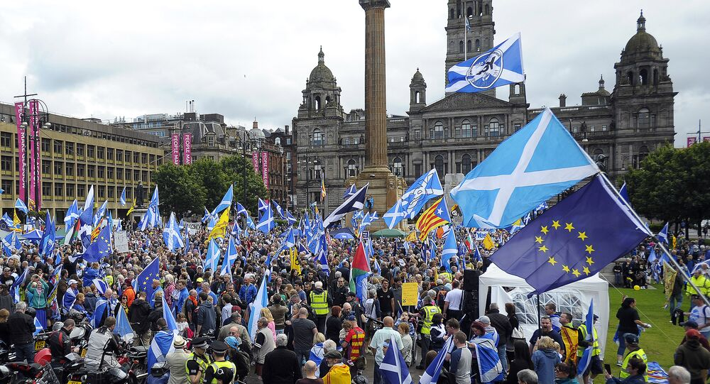 La Main du Kremlin se mêlerait de l'indépendance écossaise, selon un expert britannique