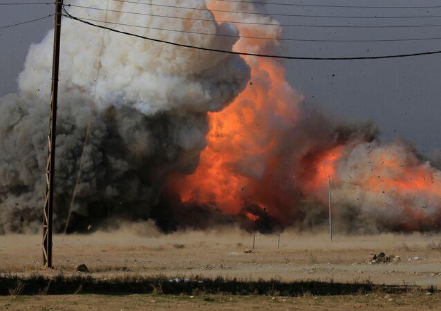 explosion, image d`illustration
