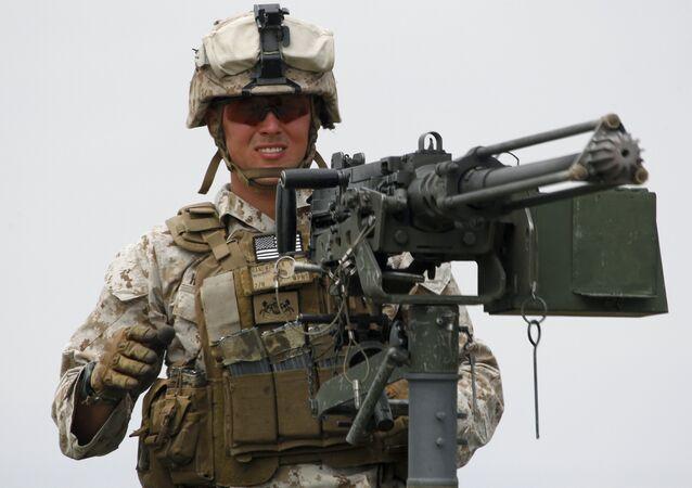 Un Marine américain