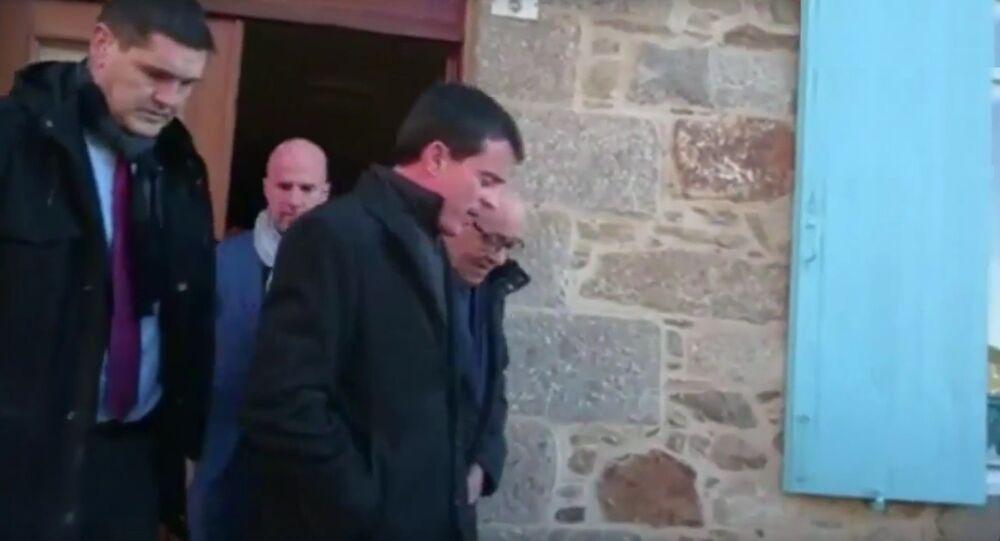 Manuel Valls en Bretagne