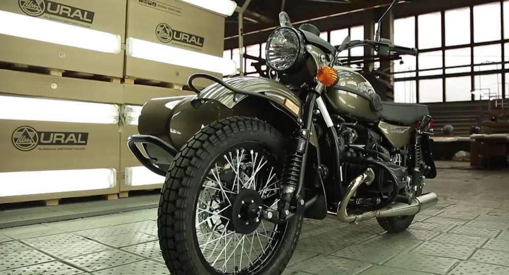 La motocyclette Oural