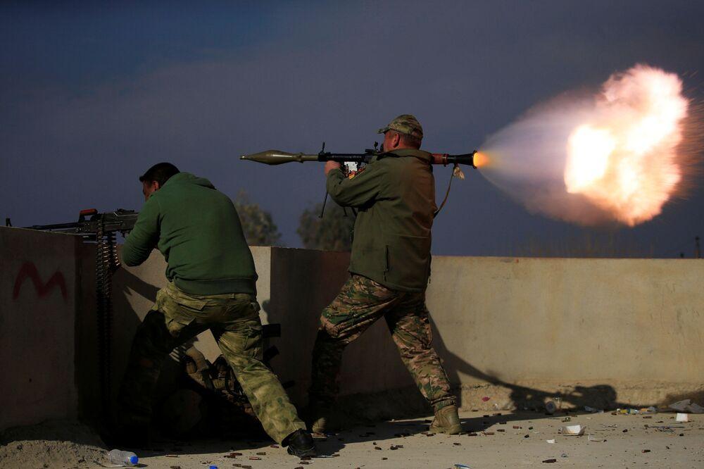 L'opération de libération de Mossoul-Est