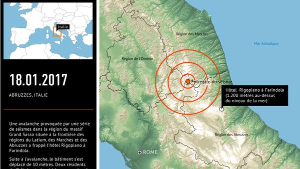 Avalanche en Italie - Sputnik France