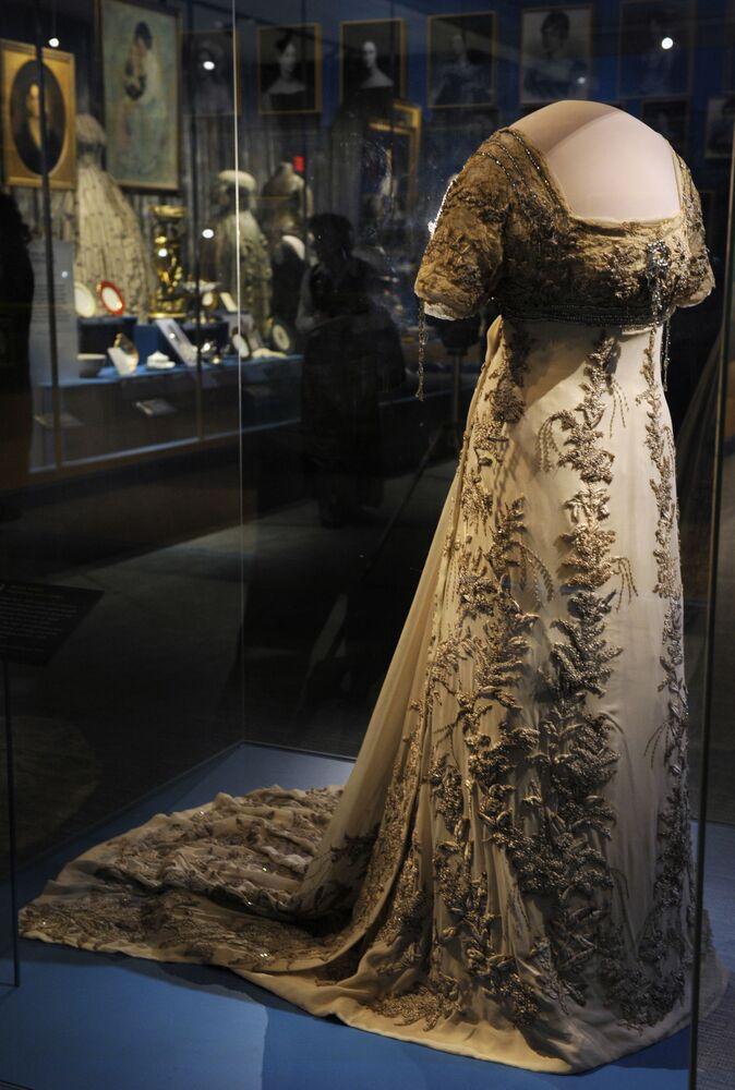 La robe d'investiture d'Helen Taft en 1909