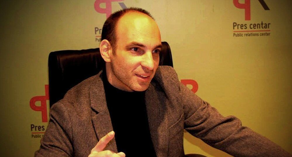 L'expert monténégrin en relations internationales Filip Kovacevic