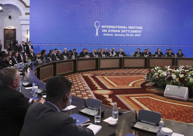 pourparlers d'Astana