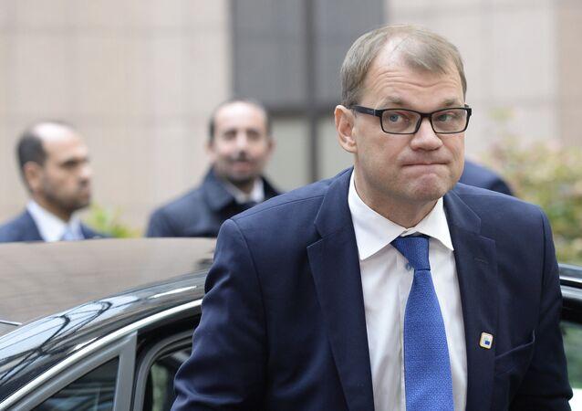 le premier ministre finlandais, Juha Sipilä