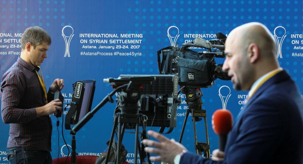 Bagarre entre journalistes arabes en marge de la rencontre d'Astana