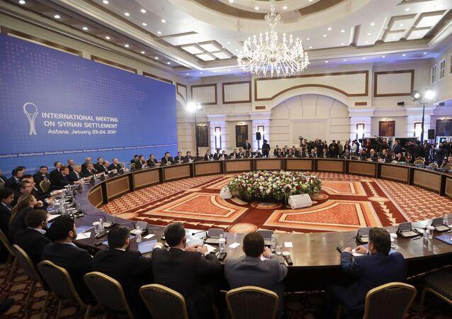 Négociations sur la Syrie à Astana