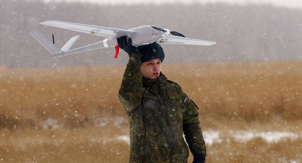 Drone russe Orlan 10