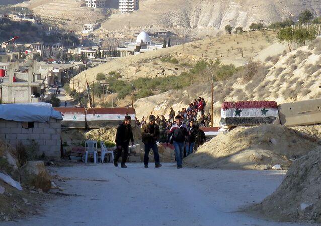 L'armée syrienne reprend le contrôle total d'une vallée près de Damas