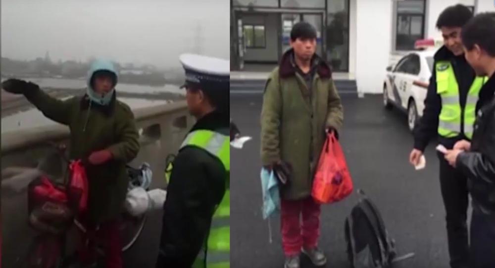 Pour voir sa famille, un Chinois fait un mois à vélo… dans la mauvaise direction!