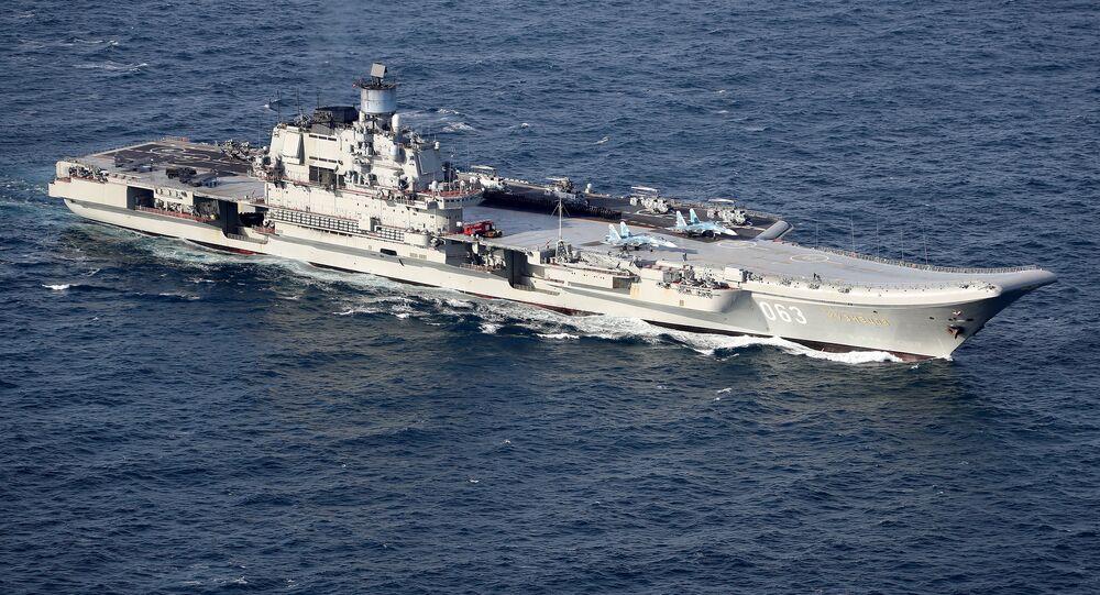Сroiseur russe Amiral Kouznetsov