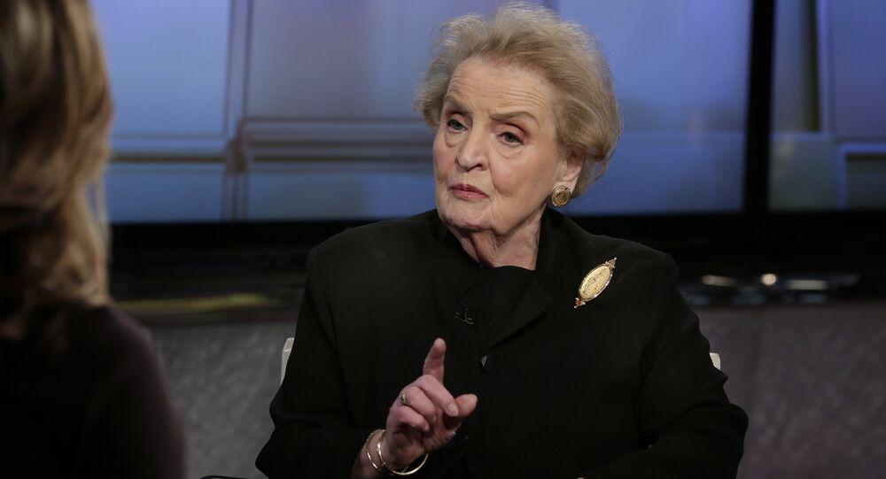 L'ex-secrétaire d'État américaine Madeleine Albright
