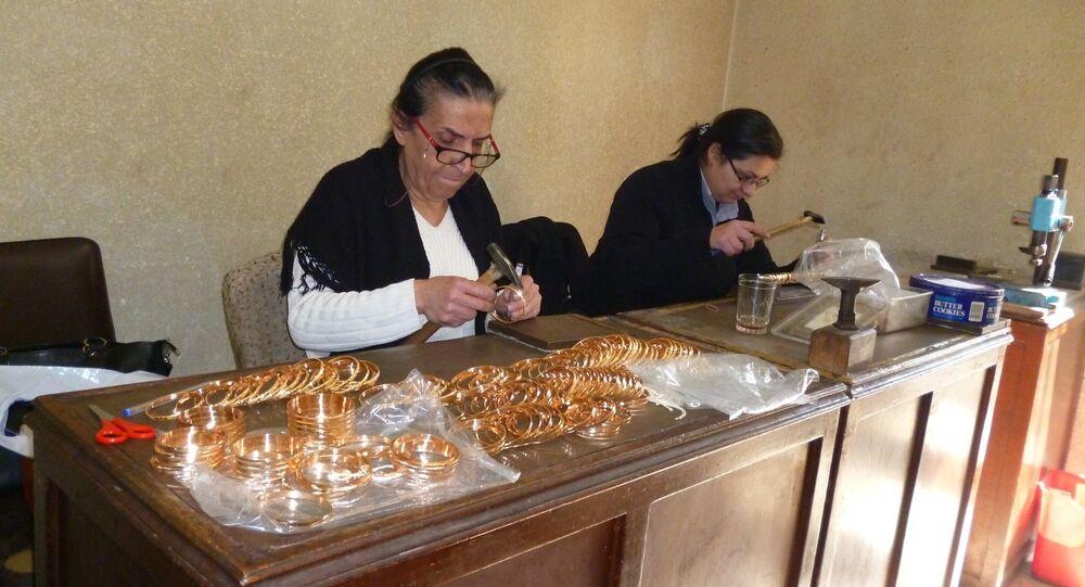 Des bijoutiers syriens