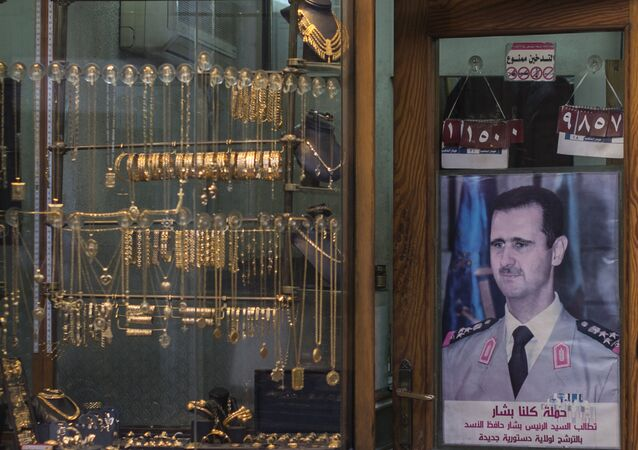 Malgré la guerre, les bijoutiers syriens tiennent le coup
