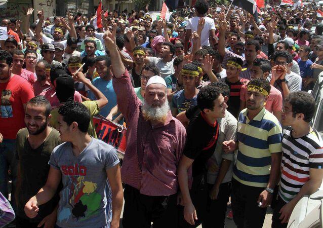 Frères musulmans. Archive photo