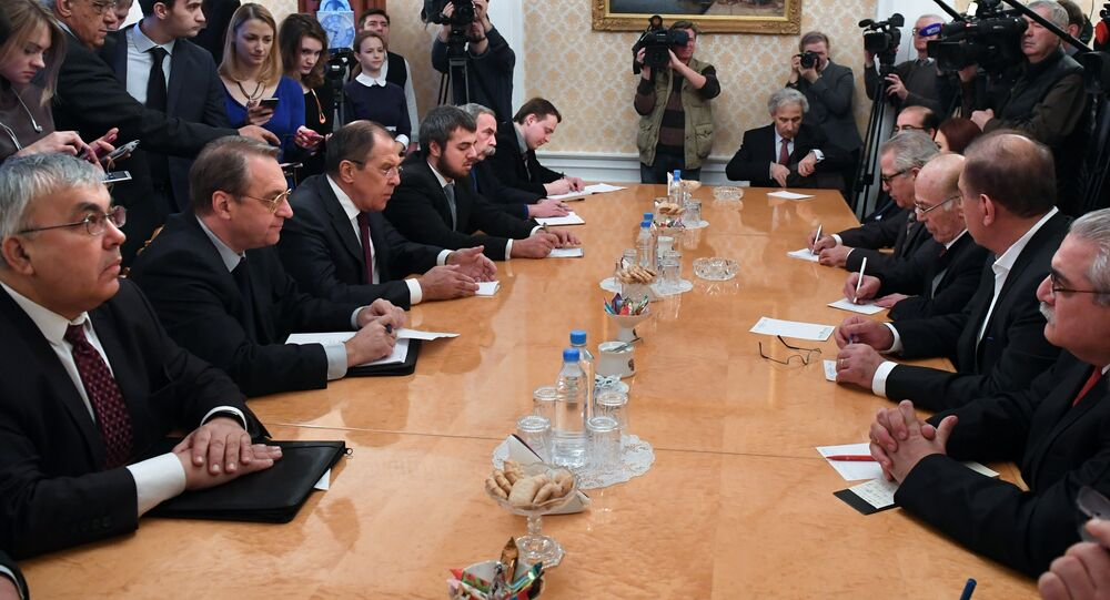 Sergueï Lavrov a rencontré l'opposition syrienne