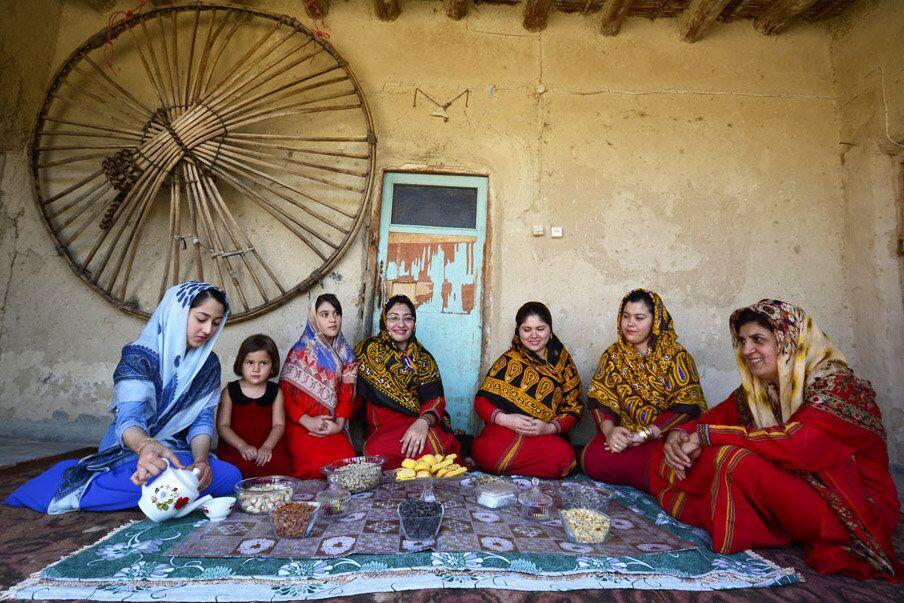 Le métier traditionnel du tissage des Turkmènes iraniniens