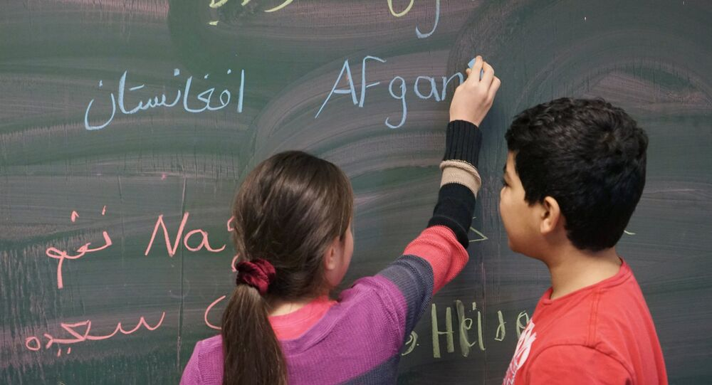 école, Syrie