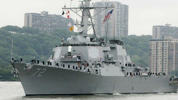 USS Mahan - Sputnik France